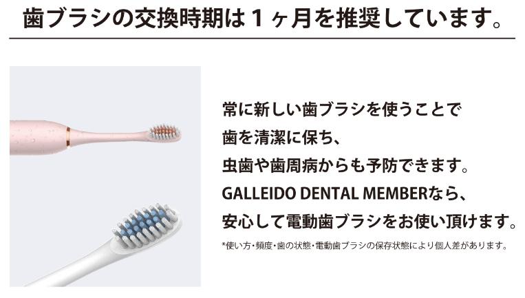 歯ブラシ交換頻度